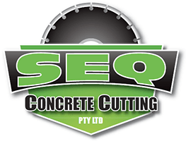 SEQ Concrete Cutting Logo