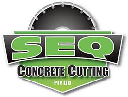 SEQ Concrete Cutting Logo
