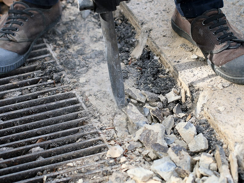 The Right Tools for Concrete Demolition
